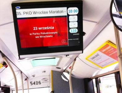 ekrany LCD BUS